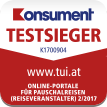 TUI.at Konsument Testsieger